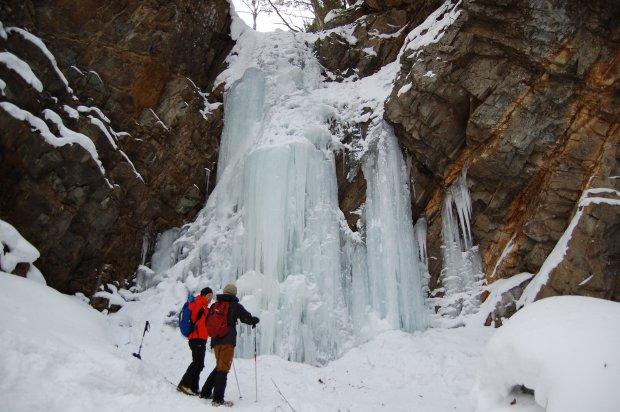 八丁の湯オリジナル2・3月限定企画 奥鬼怒の神秘の氷瀑を巡るスノートレッキング実施のご案内