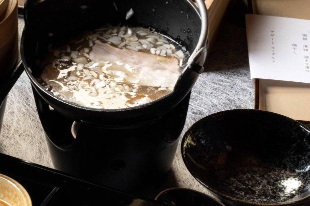豆乳小鍋仕立て